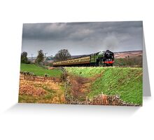 12:10 From Grosmont,North Yorkshire Greeting Card