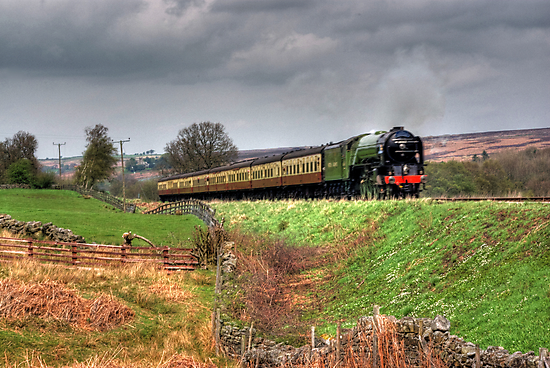 12:10 From Grosmont,North Yorkshire by Trevor Kersley