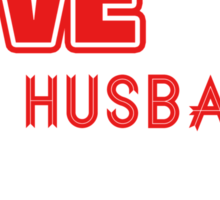 """I Love My Husband Always & Forever"" Collection #21000033 Sticker"