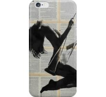 lightness of being iPhone Case/Skin