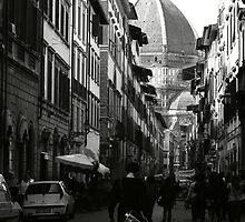 Down to il Duomo by Laura Johnson