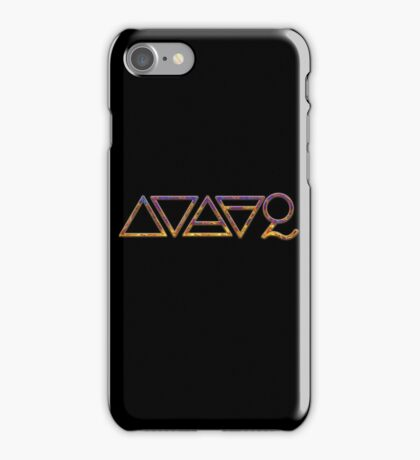 FOUR ELEMENTS PLUS ONE  - yellow/purple iPhone Case/Skin