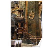 Jesuit Church Pulpit Poster