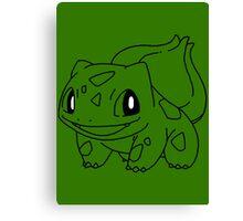 Bulbasaur! [#1] Canvas Print