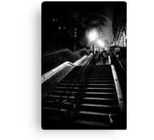 Montmartre staircase Canvas Print