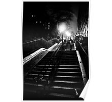 Montmartre staircase Poster