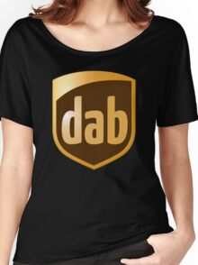 Dab Parcel Service  Women's Relaxed Fit T-Shirt