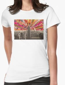 BLOOMING NY Womens Fitted T-Shirt