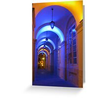 Lvov Town Hall archway Greeting Card