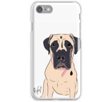 Graphic Art Dog 2 iPhone Case/Skin