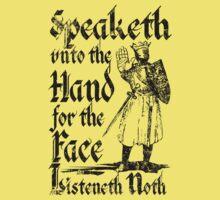 Speaketh Unto The Hand Kids Clothes