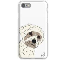 Graphic Art Dog 5 iPhone Case/Skin