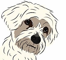 Graphic Art Dog 5 by ELLYCAT