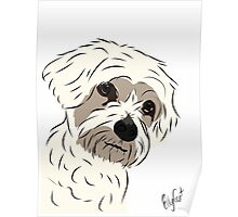 Graphic Art Dog 5 Poster