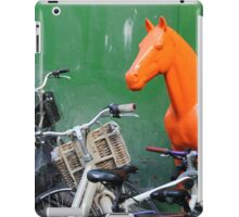 Copenhagen. Bikes and Horse iPad Case/Skin