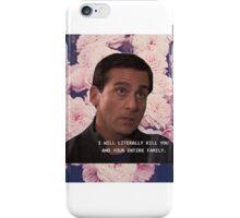 M. Scott Gets Defensive  iPhone Case/Skin