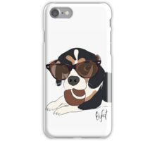 Graphic Art Dog 6 iPhone Case/Skin