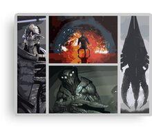 Mass Effect Villains Metal Print
