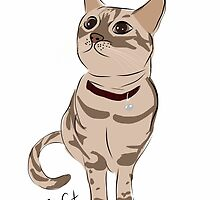 Graphic Art Cat 3 by ELLYCAT