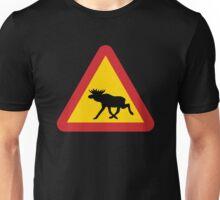 Moose Warning Unisex T-Shirt