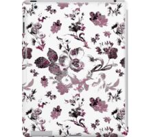 Inked Toile Wild Rose in Fushia iPad Case/Skin