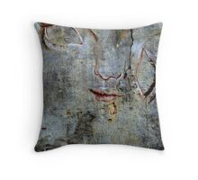 Urban Abstract ~ Face the Wall Throw Pillow