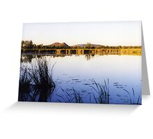 Waters of the Ord River, Kununurra, Western Australia Greeting Card