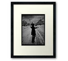 On the Way to the Grocery Store  Framed Print