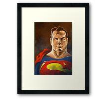 S-MAN HERO Framed Print