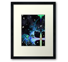 Space Time 115 Framed Print