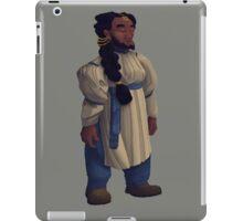 Tìna - a tinkering dwarrowdam iPad Case/Skin