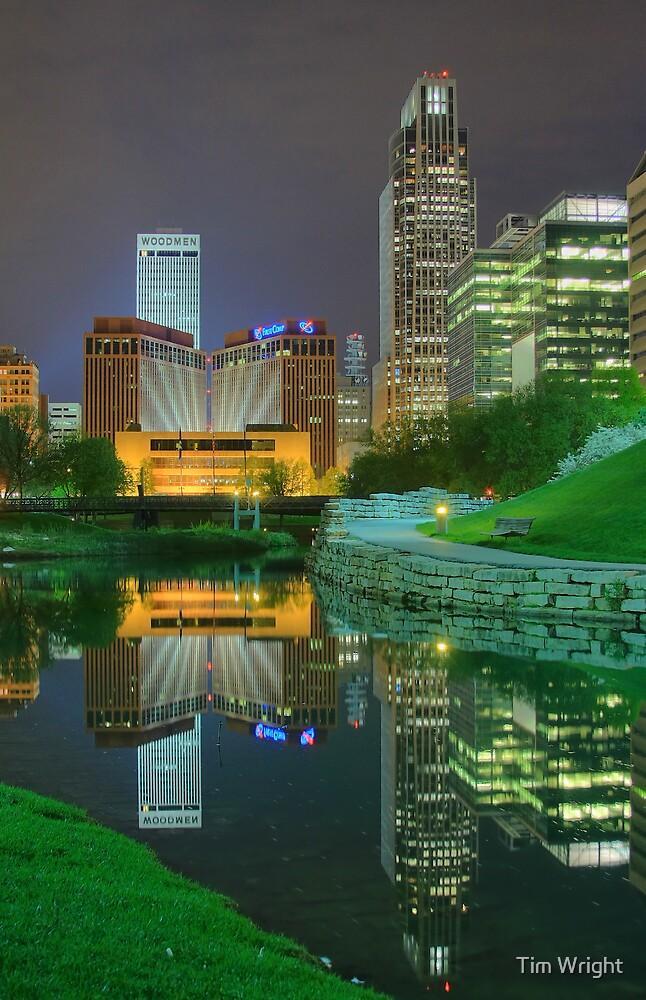 Spring Night-Omaha by Tim Wright