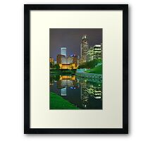 Spring Night-Omaha Framed Print