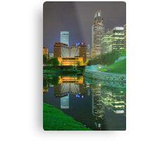 Spring Night-Omaha Metal Print
