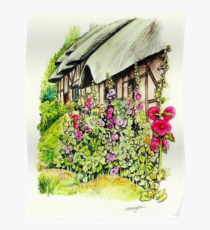 Anne Hathaway`s Cottage Poster