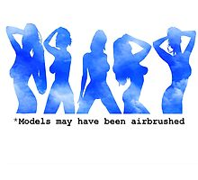 Models may be airbrushed by ElBe