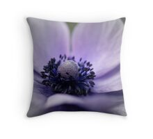 Spring - Faded Anemone  Throw Pillow