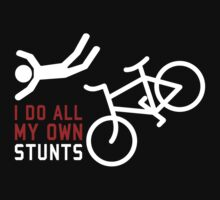 Bicycle I Do All My Own Stunts Kids Clothes