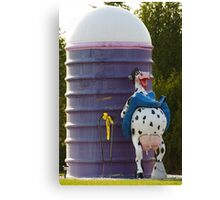 Happier than a California Cow Canvas Print