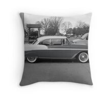 A Drive Of Days Gone By Throw Pillow