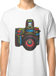 Black Camera Classic T-Shirt