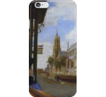 View of Delft  By Carel Fabritius iPhone Case/Skin