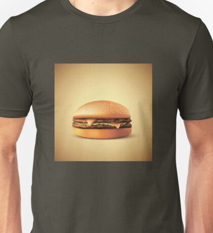Cheeze!!! Burger Unisex T-Shirt