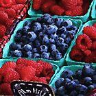 Berries Painting by jpgilmore