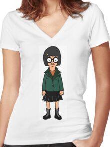 Daria Tina Women's Fitted V-Neck T-Shirt