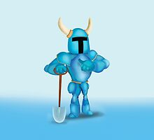 Shovel Knight by PizzaSlapper