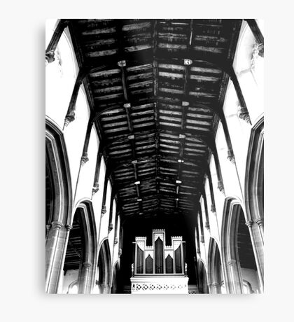 The Organ Metal Print