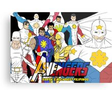 Filipino Avengers Metal Print