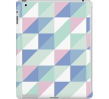 Cool Colours Palette Triangles iPad Case/Skin
