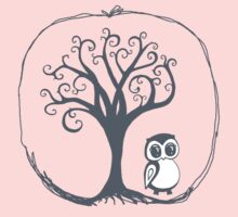 Apple tree Owl Kids Clothes